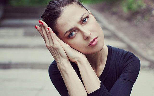 Undated picture of Russian journalist Yulia Yuzik, arrested in Tehran in October 2019.