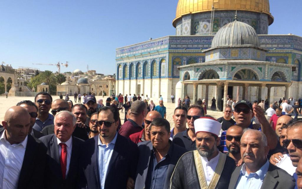 Saudi soccer team prays at Jerusalem's al-Aqsa ahead of first West Bank game