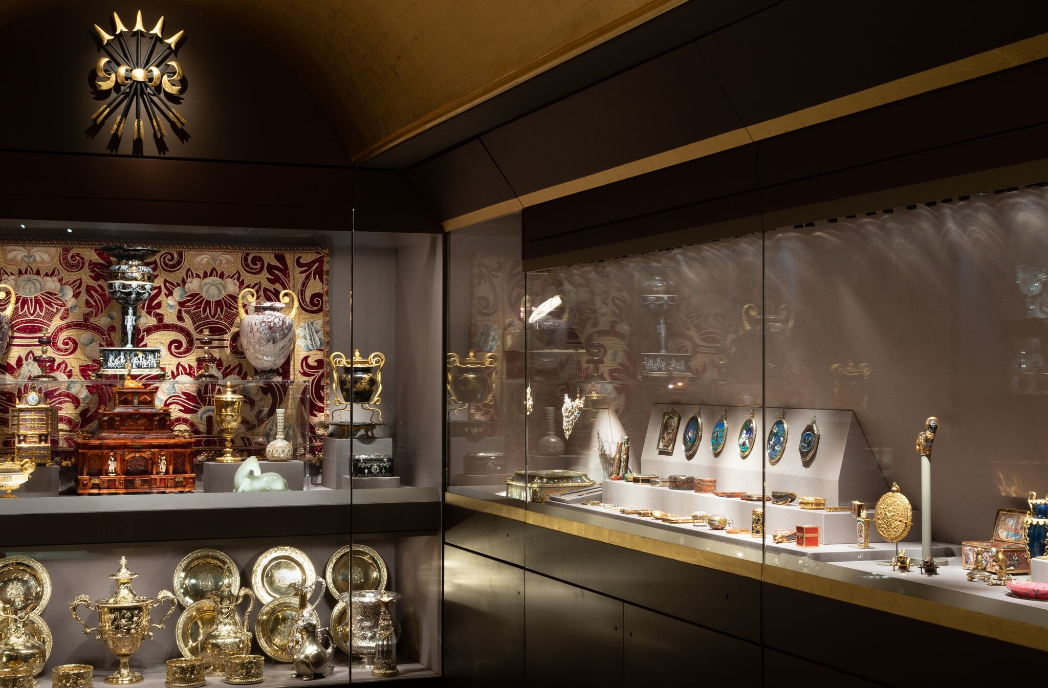 The new Rothschild Treasury permanent exhibit. (Waddesdon Image Library/Mike Fear)