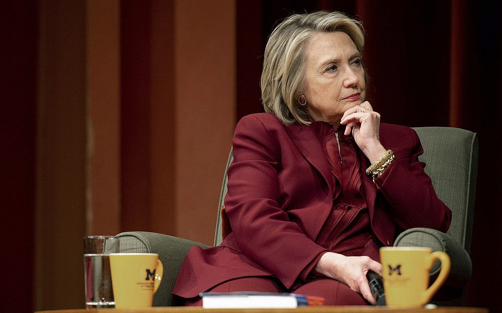Clinton says Russia 'grooming' US Democrat for third-party 2020 run
