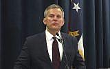 North Carolina Attorney General Josh Stein speaks to reporters in Raleigh, North Carolina, August 3, 2017.  (AP Photo/Emery Dalesio, File)