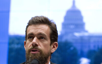 In this Sept. 5, 2018, file photo Twitter CEO Jack Dorsey testifies before the House Energy and Commerce Committee in Washington. (AP Photo/Jose Luis Magana, File)