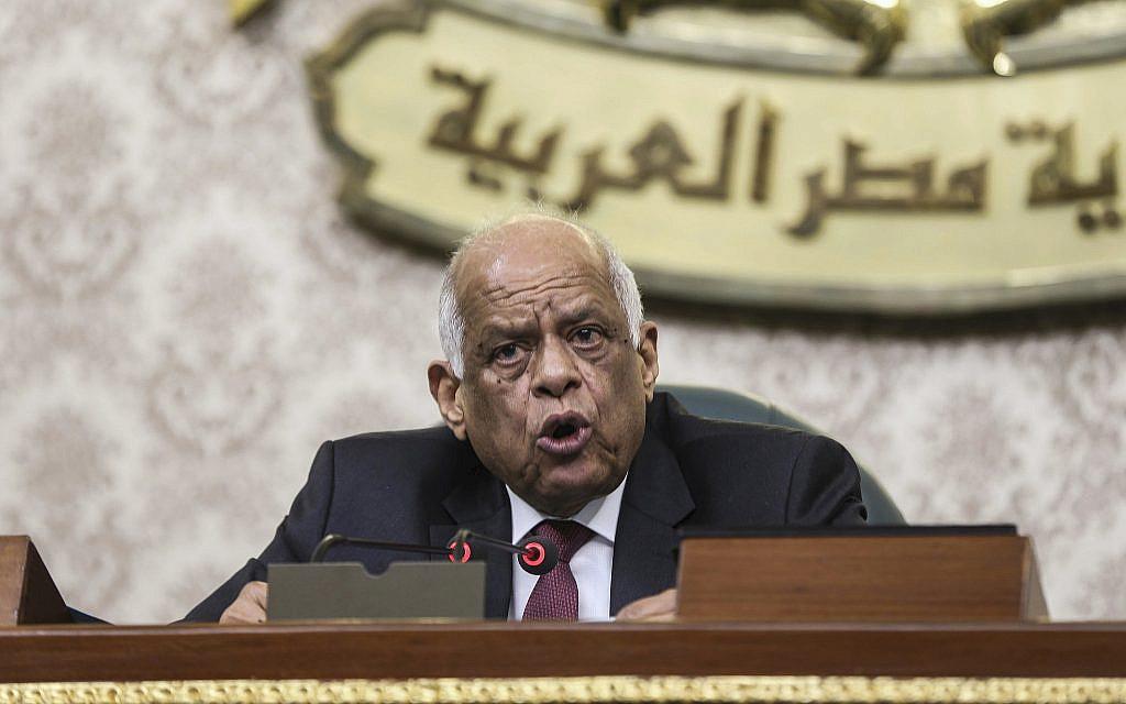 Egypt parliament speaker praises Hitler to defend government spending