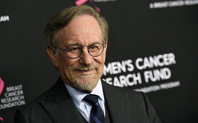 Filmmaker Steven Spielberg at the Beverly Wilshire Hotel, in Beverly Hills, California, February 28, 2019. (Chris Pizzello/Invision/AP)