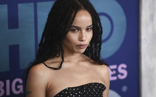 """Zoe Kravitz attends the premiere of HBO's """"Big Little Lies"""" season two at Jazz at Lincoln Center on Wednesday, May 29, 2019, in New York. (Photo by Evan Agostini/Invision/AP)"""