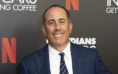Jerry Seinfeld attends the 'Comedians In Cars Getting Coffee,' photo call at The Paley Center for Media, in Beverly Hills, California, July 17, 2019. (Willy Sanjuan/Invision/AP)
