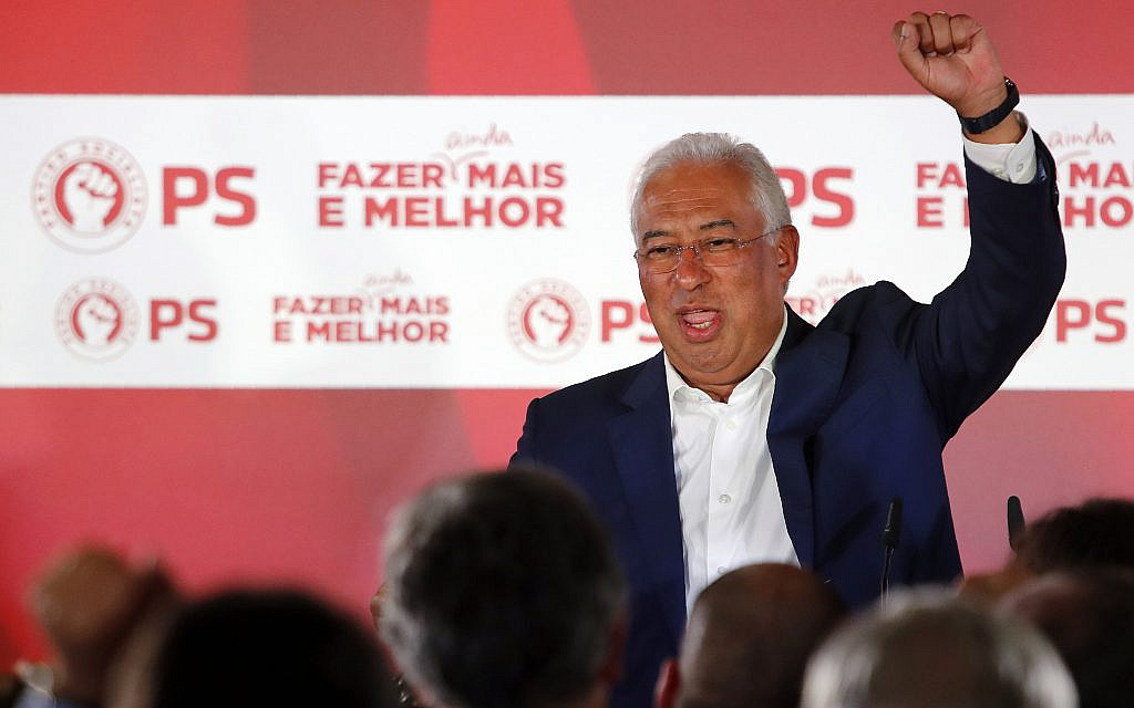 Socialists win reelection in Portugal