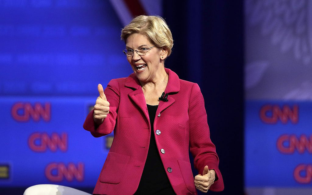 Warren mocks Facebook rules with false ad claiming Zuckerberg endorsed Trump