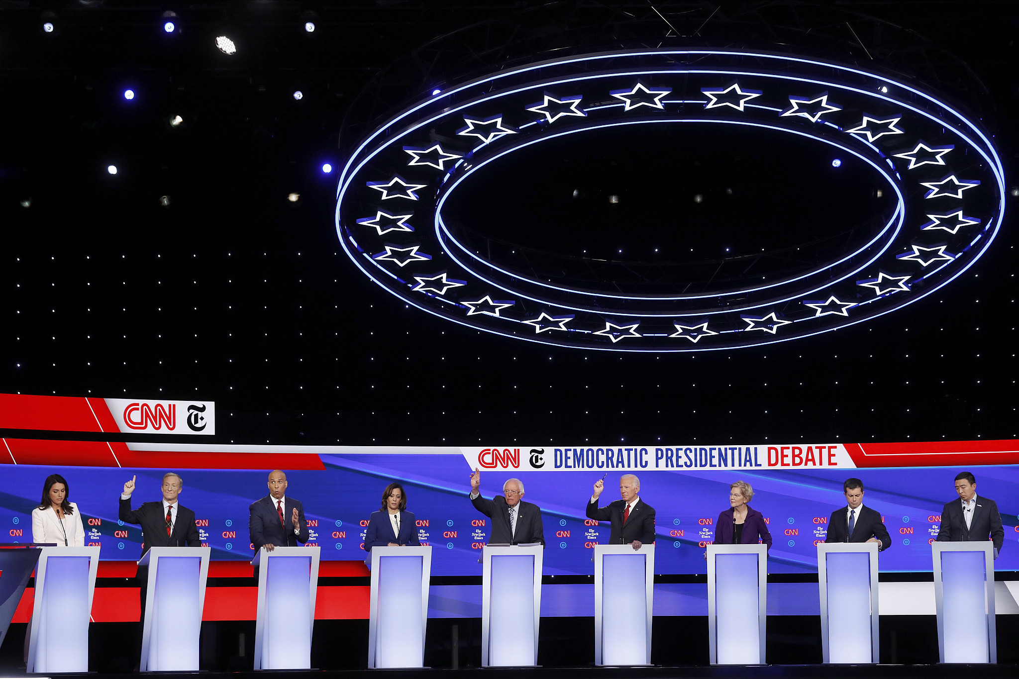 Key takeaways from the Democratic presidential candidate debate