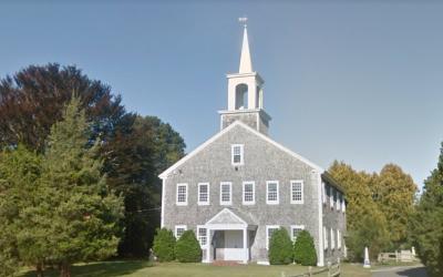 The Falmouth Jewish Congregation in Cape Cod, Massachusetts. (Screen captureL Google Maps)