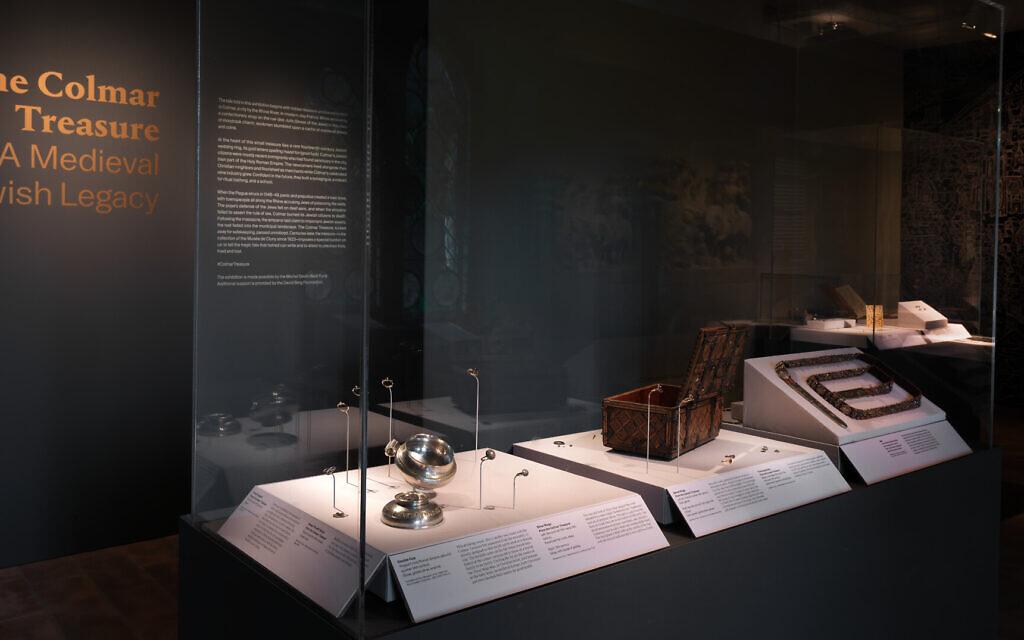 The Colmar Treasure exhibit at the Metropolitan Museum of Art in New York. (Courtesy/ Met Cloisters)