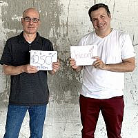 Next founders Nissim Tapiro and Alon Huri. (Courtesy)