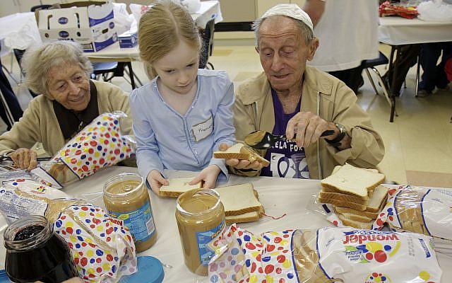 Those aged 65 and older make up more than a quarter of the U.S. Jewish population. (Jeffrey Greenberg/Getty Images via JTA)