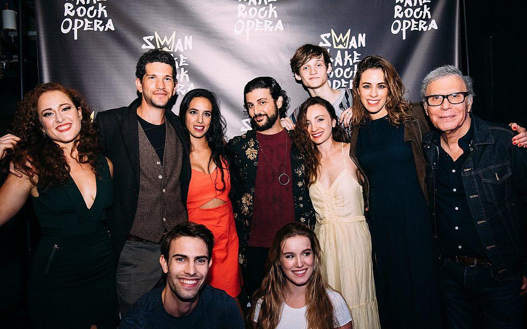 Cast of 'Swan Lake Rock Opera.' (Lauren Khalfayan)