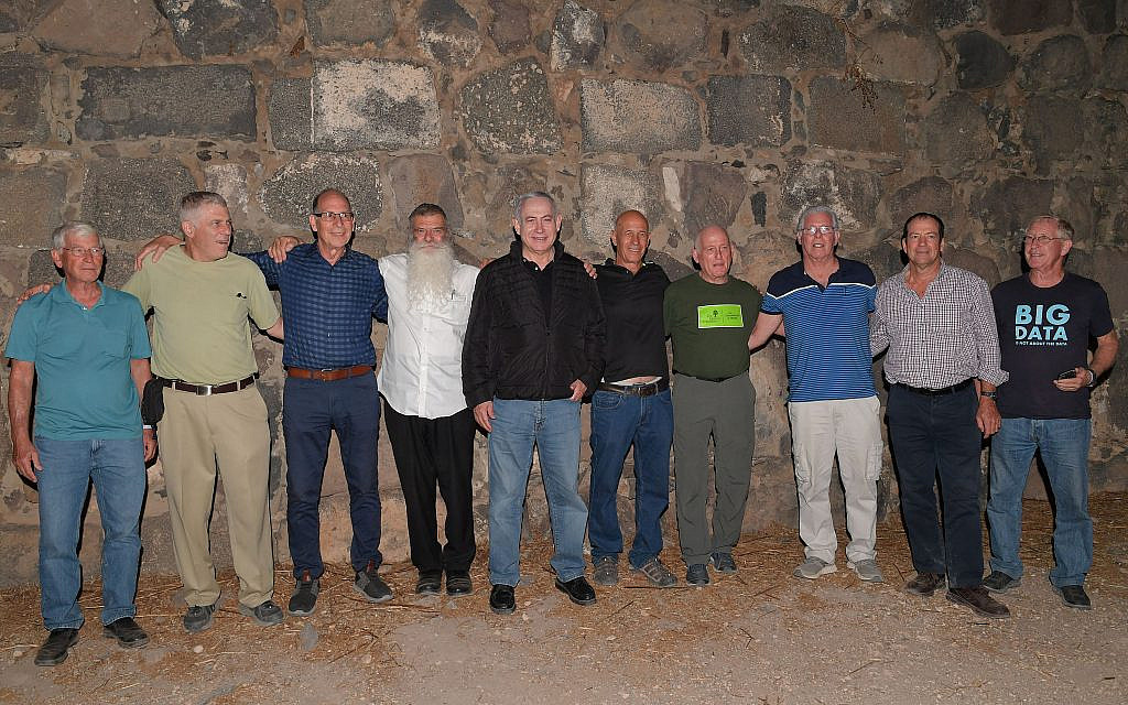 PM's former IDF 'Bibi Team' celebrates his 70th birthday at 50th reunion