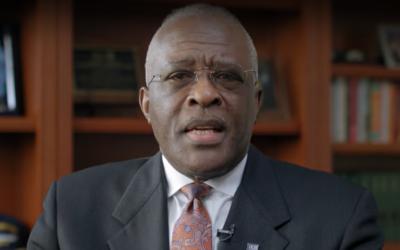 University of Illinois Chancellor Robert Jones (Screen capture: YouTube)