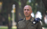Brig. Gen. Shai Elbaz, the outgoing head of IDF naval operations, who resigned in October 2019 amid allegations of past illicit sexual liaisons with subordinates.