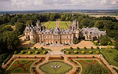 South Front, Waddesdon Manor. (Studio 8 (c) National Trust Waddesdon Manor)