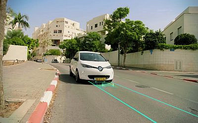 Israeli startup Electreon aims to electrify roads so cars can charge while they drive. (YouTube screenshot)