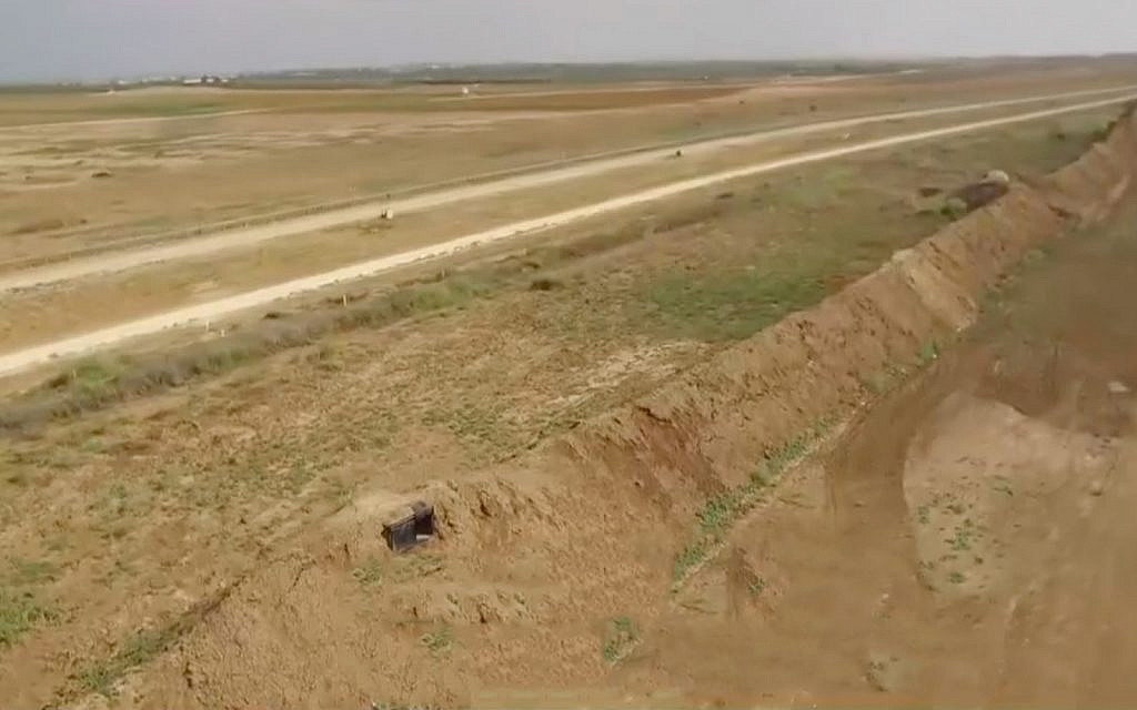 IDF nearing completion of new Gaza border fortifications