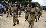 Al-Shabaab terrorists in Mogadishu, Somalia, October 30, 2009. (AP Photo/Mohamed Sheikh Nor)