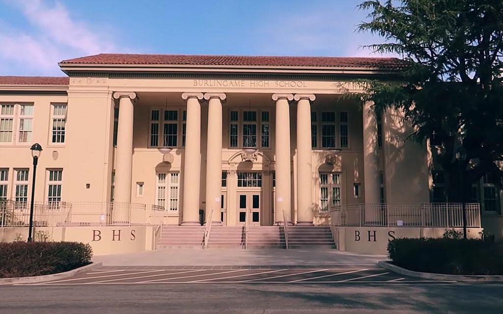 Former student arrested over swastika graffiti at California school