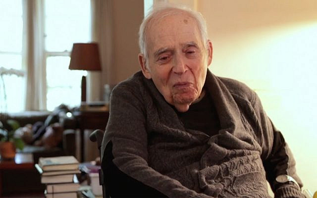 Harold Bloom spoke with the Yiddish Book Center weeks before his death. (Yiddish Book Center via JTA)