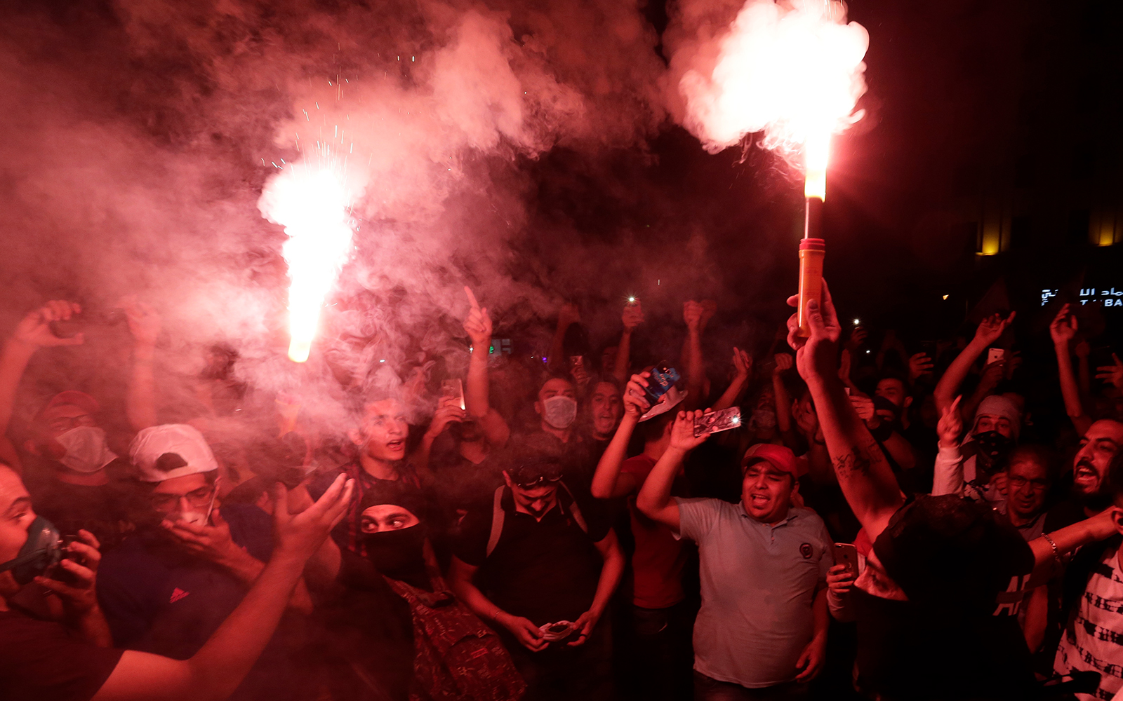 Unprecedented anti-government protests swell across Lebanon
