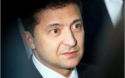 Ukrainian President Volodymyr Zelensky (AP Photo/Efrem Lukatsky)