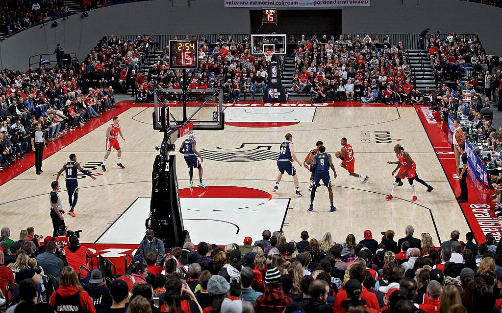 Trail Blazers deny cutting ties with company due to BDS pressure
