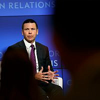 Then-acting US Homeland Security Secretary Kevin McAleenan speaks at the Council on Foreign Relations, September 23, 2019, in Washington. (AP Photo/Jacquelyn Martin)