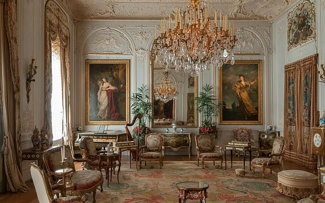 The Grey Drawing Room at Waddesdon Manor. (Chris Lacey (c) National Trust Waddesdon Manor)