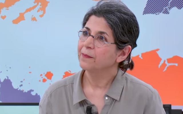 Fariba Adelkhah (France 24 screenshot)
