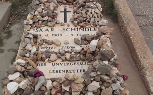 Schindler honored by children of those he saved -- and a single survivor   The Times of Israel