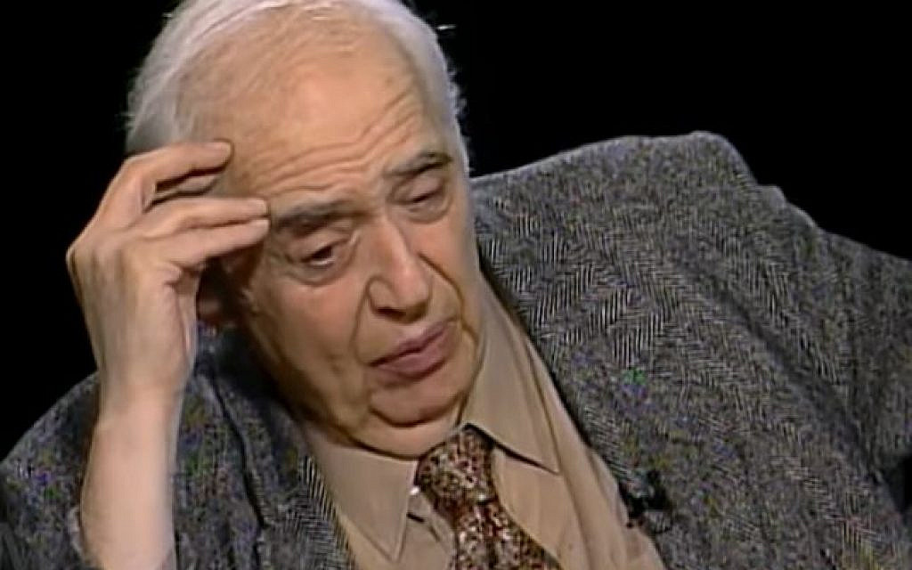 Renowned American Jewish literary critic Harold Bloom dies at 89