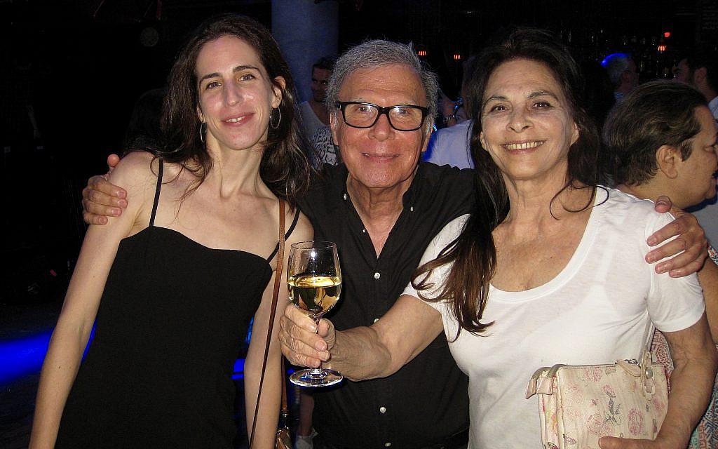 Sharona Pick, left, with mother Mirit Shem-Ur, right and director Tsedi Sarfati, center, of 'Swan Lake Rock Opera.' (Lauren Khalfayan)