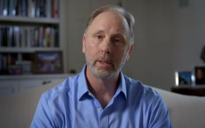Georgia Democratic Senate candidate Matt Lieberman, son of former senator Joe Lieberman, in a screenshot from a YouTube ad announcing his Senate bid, October 2, 2019.