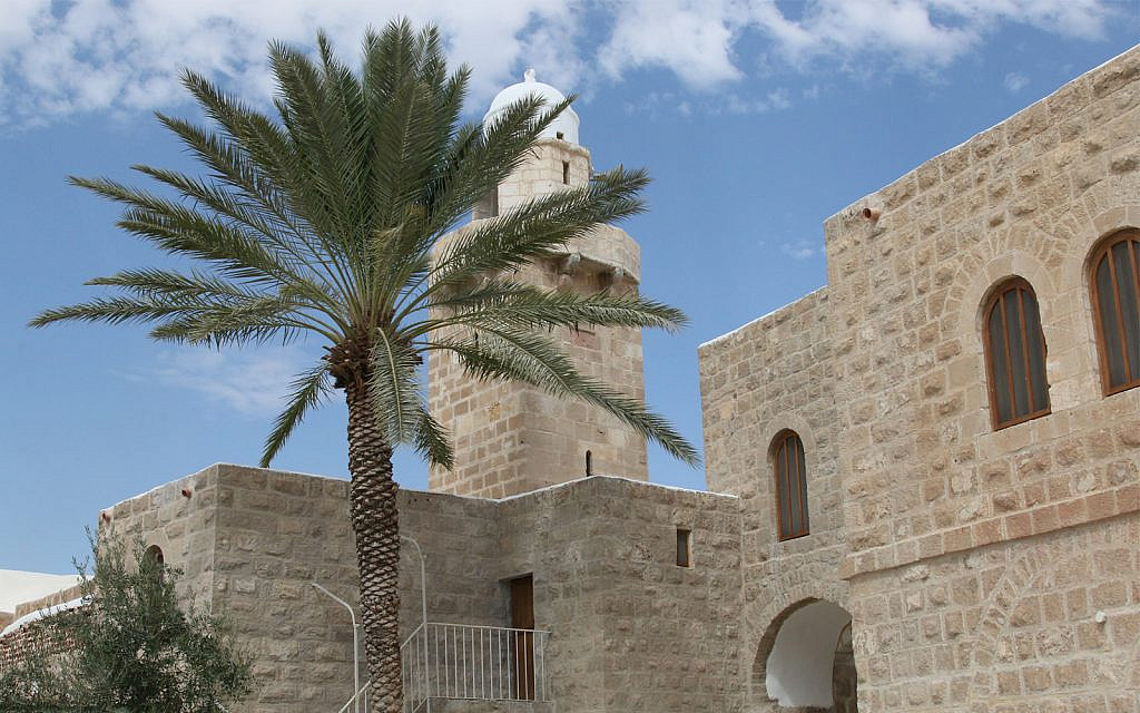 The Nebi Musa religious site in the West Bank near Jerusalem. (Shmuel Bar-Am)