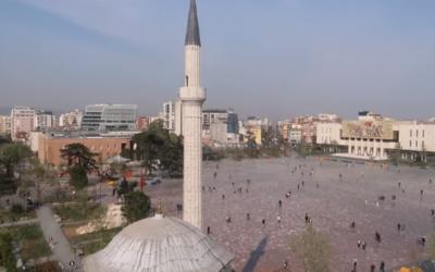 A view of Tirana, Albania (YouTube screenshot)