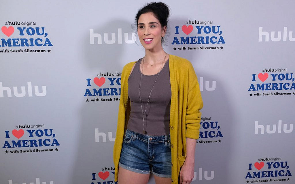 Sarah Silverman films late-night pilot series for HBO