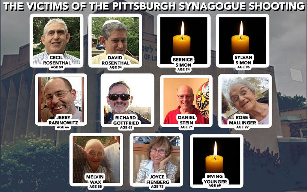 Virtual commemoration to be held for Pittsburgh synagogue victims