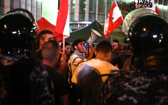 Lebanon's Anti-Government Protesters Call for General Strike