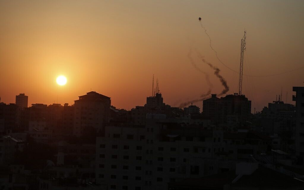 Sirens sound across southern Israel as area bombarded by rockets