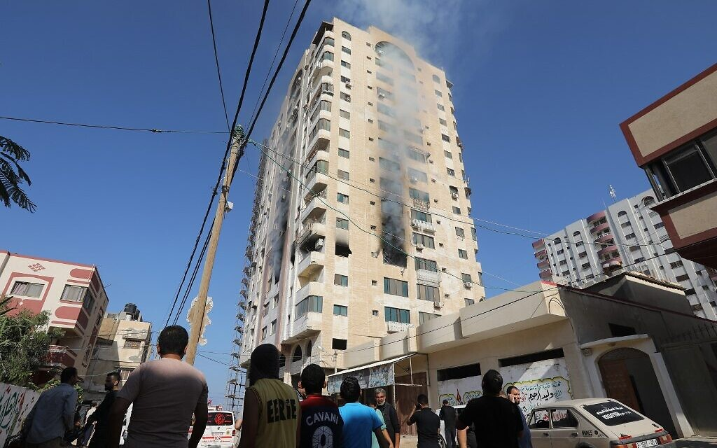 IDF girds for several days of fighting after some 150 rockets fired at Israel