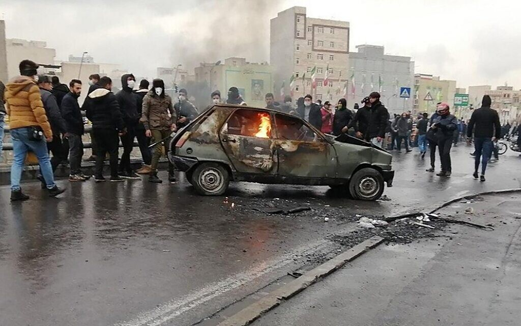 US says Iran may have killed over 1,000 protesters in government crackdown