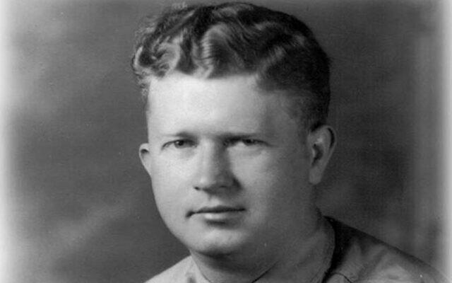 Master Sgt. Roddie Edmonds refused a Nazi command to identify Jewish American soldiers. (Yad Vashem via JTA)