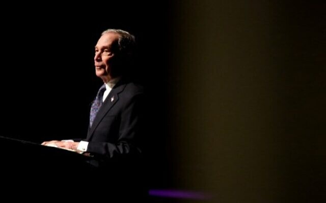 Michael Bloomberg speaks at the Christian Cultural Center on November 17, 2019 in the Brooklyn borough of New York City. Reports indicate Bloomberg, the former New York mayor, is considering entering the crowded Democratic presidential primary race.  (Yana Paskova/Getty Images/AFP)