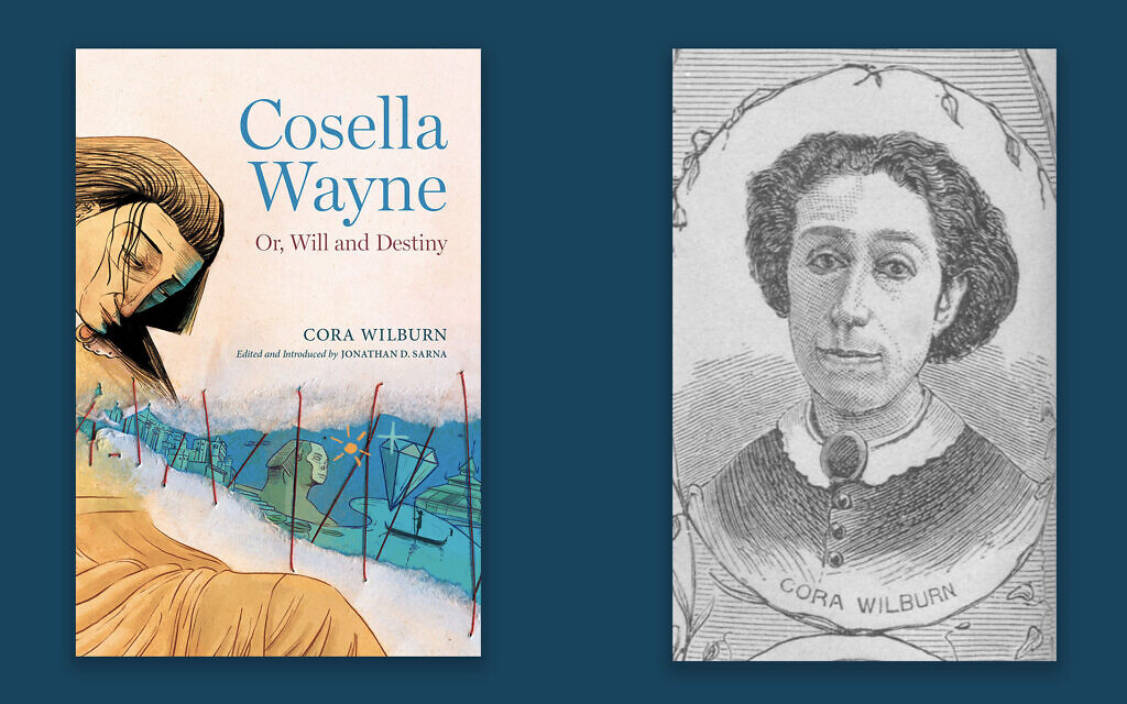 Cora Wilburn's novel 'Cosella Wayne: Or, Will and Destiny' is being published in book form for the first time, thanks to Jewish historian Jonathan Sarna. (Library of Congress/via JTA)