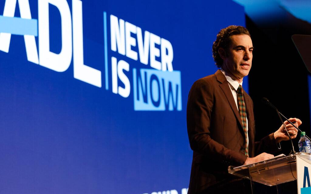 Sacha Baron Cohen calls social media 'greatest propaganda machine in history'