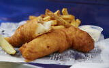 Fish and chips, the iconic British dish, has Jewish roots. (Getty Images/via JTA)